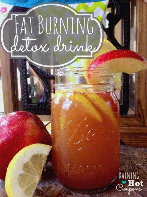 Zsírégető, méregtelenítő ital